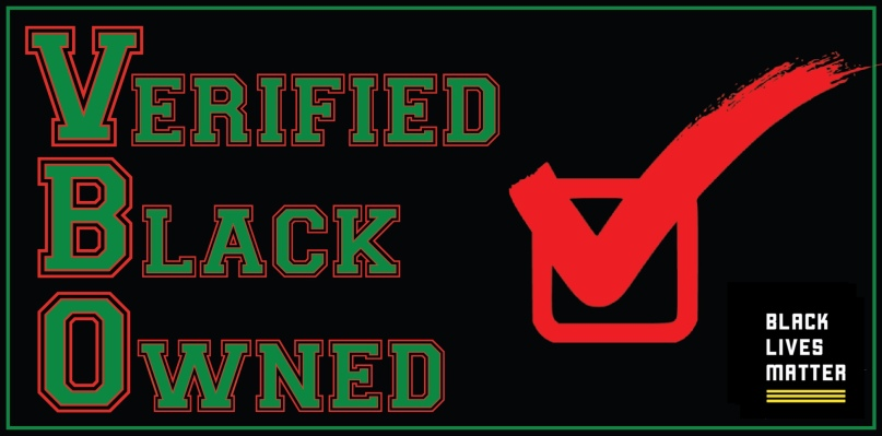 Verified Black Owned BLM Logo